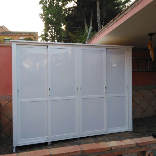 Hnos Cortes Ruiz - Carpintería de Aluminio, PVC y Cristal en Málaga, Fuengirola y Mijas. Cerramientos de Aluminio
